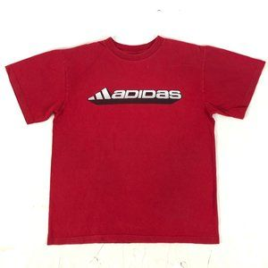 Adidas Men's Tee Shirt Short sleeve Red Size M